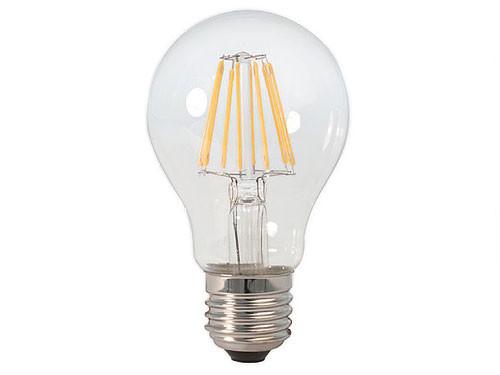 Bollamp E27 6W LED met gloeidraad structuur