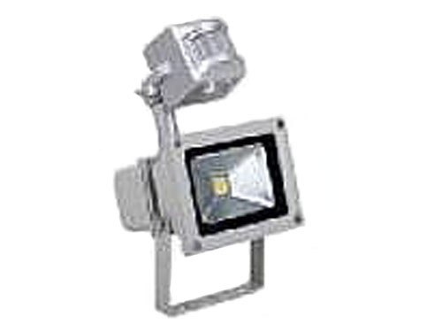 LED Verstraler 1x10W met pir-sensor